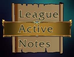 League Active Notes