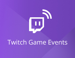 Twitch Game Events